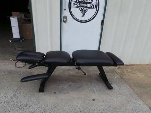 Used Chattanooga Ergo Bench Table With Pelvic Drop Black Top