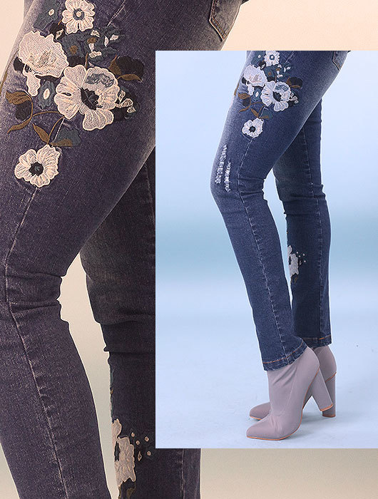 The Embroidered Jean