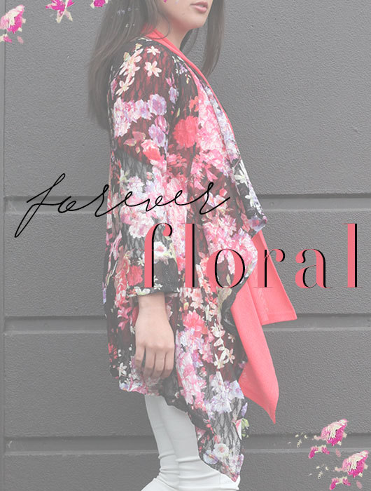 Re-energise in Fresh new-wave Florals