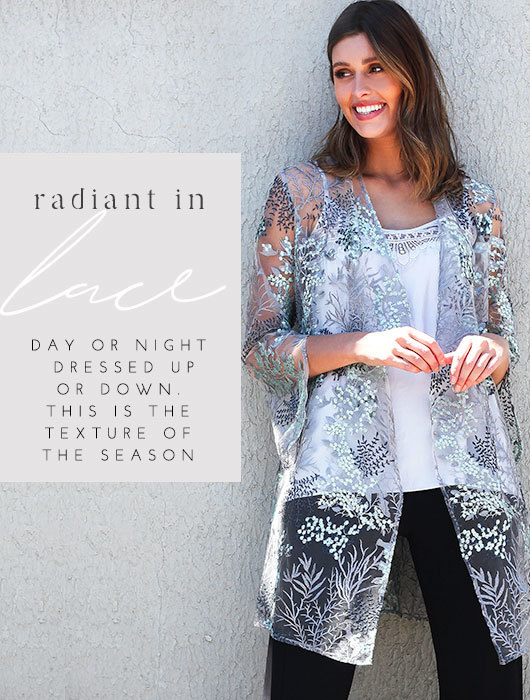 Radiant in Lace