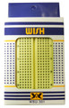 Breadboard Strip with Power Bus - Small