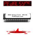Analog BBD Delay Clock IC MV-64