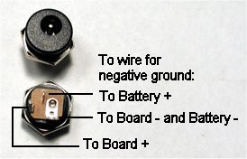 How Do You Wire Up A Dc Jack W Battery Snap