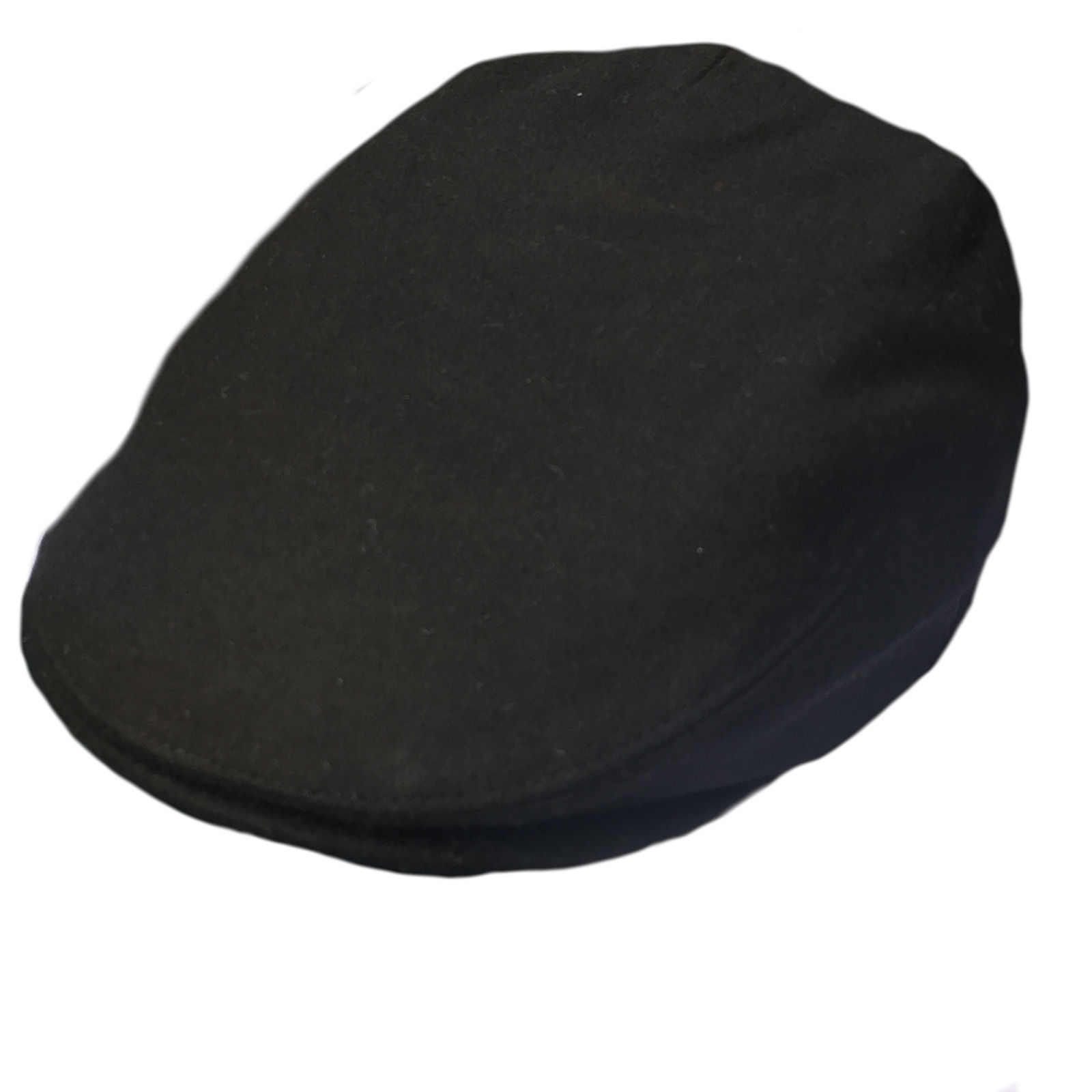 19e33c0f168 Details about G   H Kids Black Wool Peaky Blinders Style Flat Cap Hat
