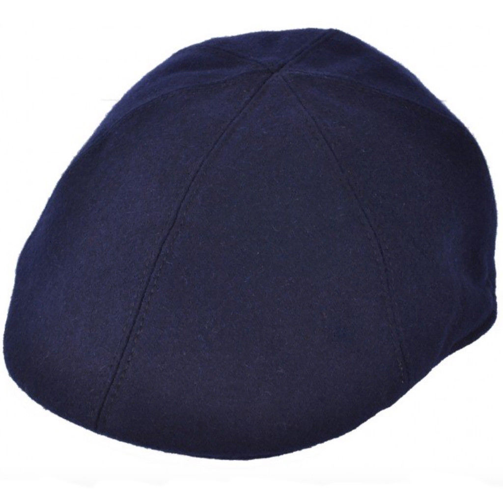 Details about G   H Navy Wool 6 Panel Cabbie Peaky Blinders Style Flat Cap  Hat f5d0b53e9d6a