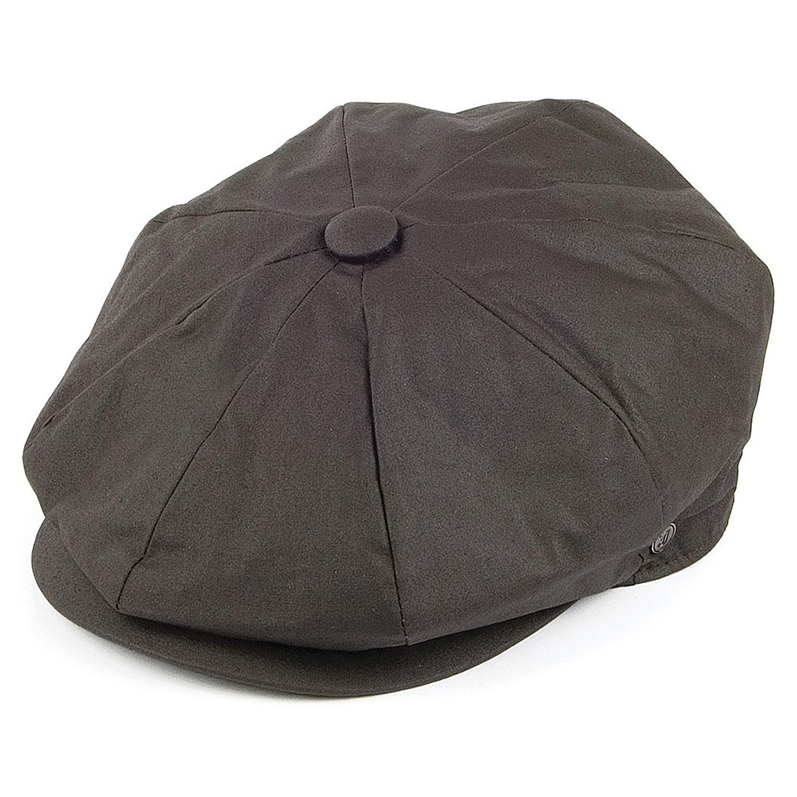 8adfe4196da16 Details about Jaxon Brown Oilcloth Cotton 8 Panel Newsboy 1920s Peaky  Blinders Style Flat Cap