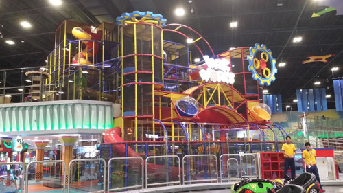 Fun Works Playground In Yas Mall Uae Large Attractions