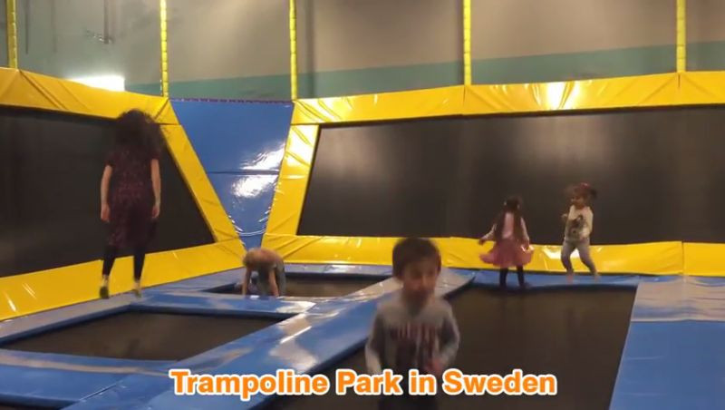 trampolin stockholm