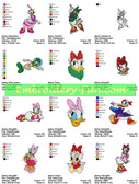 DAISY DUCK DISNEY EMBROIDERY DESIGNS