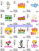GIRL POWER EMBROIDERY DESIGNS