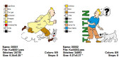 TINTIN Machine Embroidery Designs Patterns