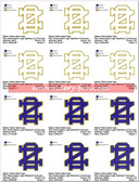 University of Notre Dame Stitched & Applique SPORTS LOGO EMBROIDERY DESIGNS