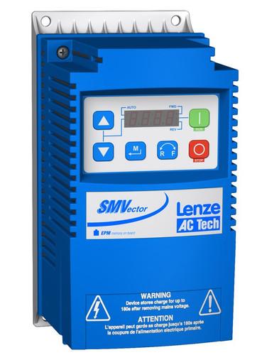 Lenze ESV251N01SXB SMV Frequency Inverter Nema 1 (IP31) 0.33 to 1.5 HP
