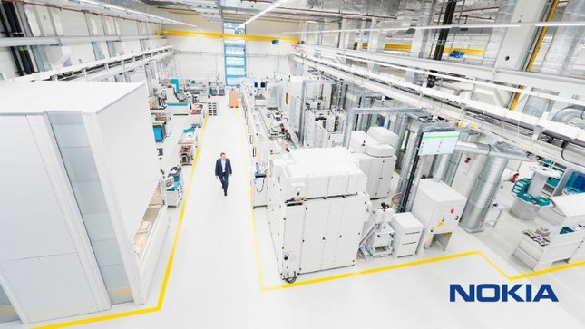 Nokia's Futuristic Factory with 5G IoT