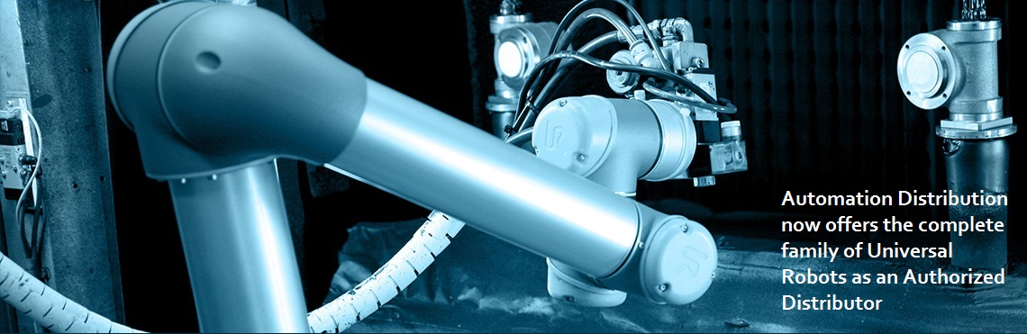 Automation Distribution is an Authorized Distributor of Universal Robots