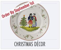 Henriot Quimper Christmas Plates