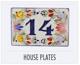 Henriot Quimper House Plates