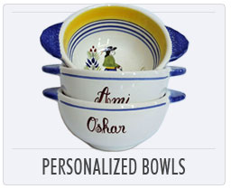Henriot Quimper Personalized Bowls
