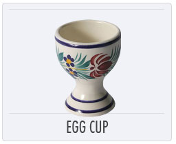 Quimper French Pottery Egg Cup