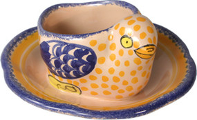 Chick Egg Cup - Corbeille Rose