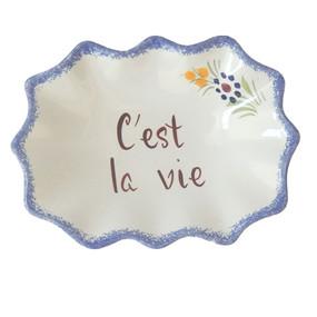 Decorative Dish - C'est la Vie
