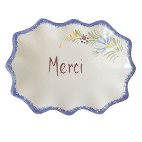 Decorative Dish - Merci