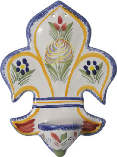 Holy Water Font - Fleuri Royal