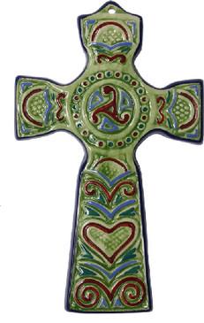 Breton Cross - Green