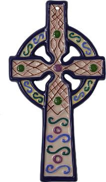 Celtic Cross - Pink