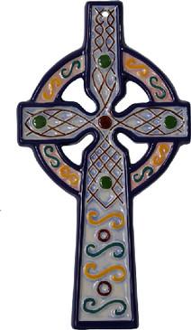 Celtic Cross - Blue