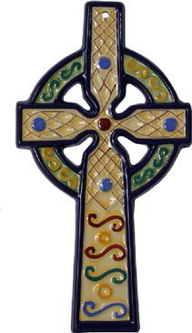 Celtic Cross - Yellow