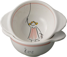 Lea - Personalized Lug Bowl