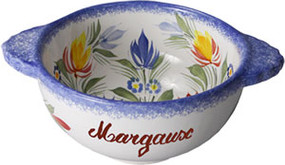 Fleuri Royal - Personalized Lug Bowl
