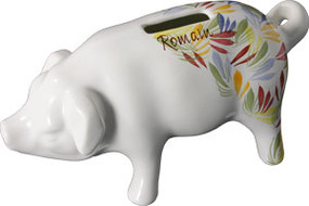 Piggy Bank Quimper Touch - Personalized