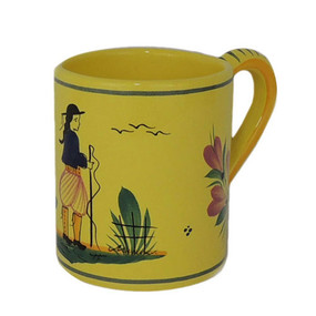 Coffee Mug - Soleil Yellow Man