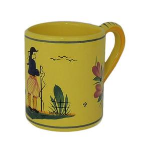 Coffee Mug - Soleil Yellow Man