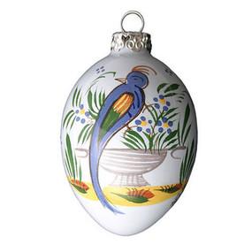 Quimper Ornament - Jardin d'ete - Decor Spirit of Christmas