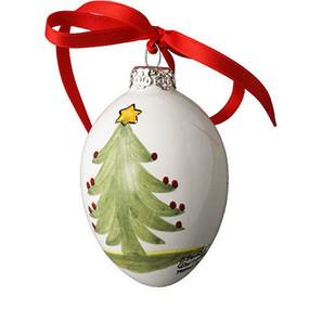 Quimper Ornament - Christmas Tree - Decor Spirit of Christmas