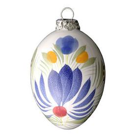 Quimper Ornament - Fleuri Royal - Decor Spirit of Christmas