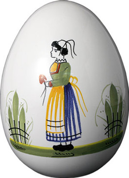 Decorative Egg - Woman - Henriot