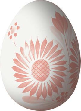 Decorative Egg - Camaieu Pink