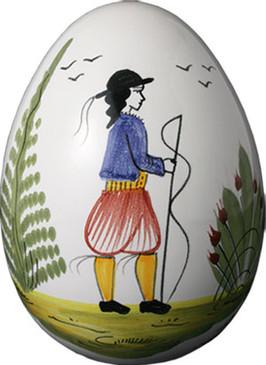 Decorative Egg - Man - Tradition