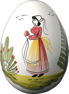 Decorative Egg - Woman - Tradition