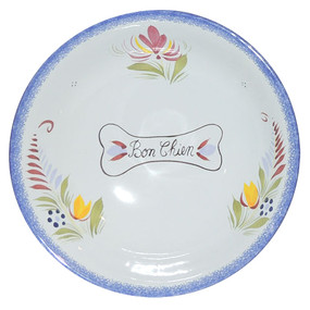 Quimper Dog Bowl