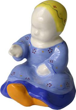 Baby Sitting Blue - Berthe Savigny
