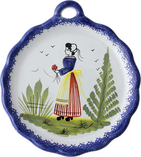 Dish with Handle - Mistral Blue
