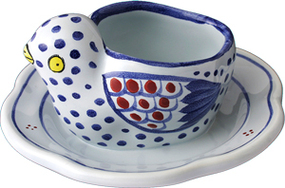 Chick Egg Cup - Mistral Blue