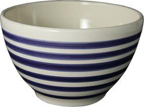 Parisian Bowl - Breton Stripes Blue