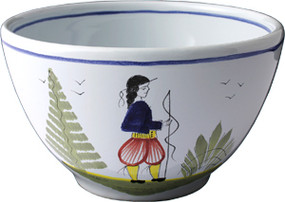 Parisian Bowl - Mistral Blue