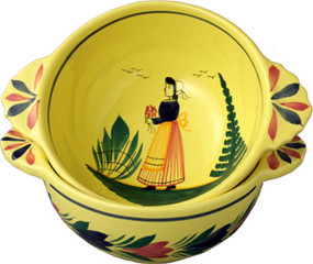 Breton Lug Bowl - Soleil Yellow
